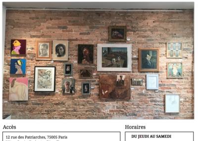Site internet Galerie des Patriarches